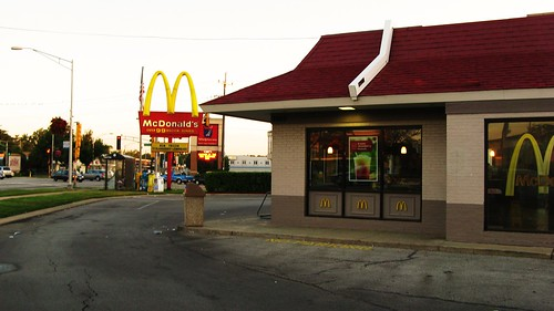 Early morning at the Mc Donald's. Niles Illinois USA. June 2011. by Eddie from Chicago