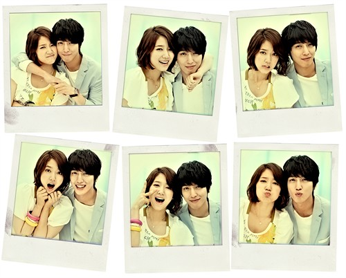 Jung Yonghwa and Park Shin Hye Promotional Polariods for Heartstrings /You've Fallen For Me [2011.06.02]]