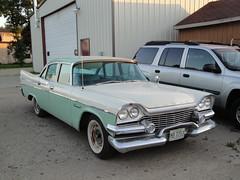 58 Dodge Coronet (DVS1mn) Tags: county cars car minnesota july 1958 dodge mopar mn eight nineteen fifty 58 wpc 2011 walterpchrysler chryslercorporation kandiyohi nineteenfiftyeight