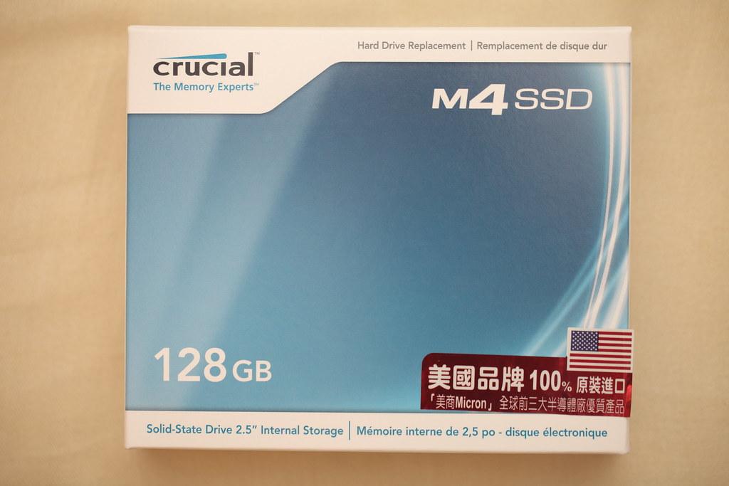Crucial M4 128G SSD