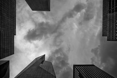 Storm over 6th Avenue and 43rd Street. - mdpNY20110708 (mdpNY) Tags: street nyc newyork storm architecture photography photojournalism documentary lookingup midtown photoblog document skyclouds nycstreetphotography mdpny matthewdavidpowell