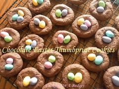 Chocolate Easter Thumbprint Cookies (Patty Anderson) Tags: food dessert blog recipes