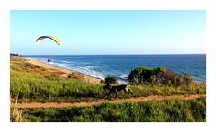 Paragliding, Coal Oil Point, Santa Barbara