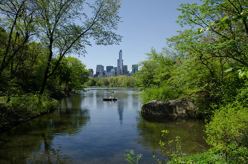 Central Park, The Lake