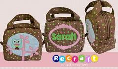 Frasqueira menina (Recraft - Craft Criativo) Tags: escola patchwork maleta necessaire frasqueira recraft patchaplique
