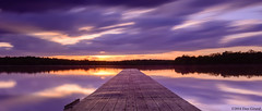 20140517 Mt. Hope Church 027 (Dan_Girard_Photography) Tags: sunset reflection nature water clouds pier stmaryschurch 2014 loudoncounty dangirardphotography