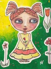 LB14 wk 17 Gratitude _ Whimsy  #2 (2) (corinnebekker) Tags: whimsy wk17 whimsygirl inspiredbyartclass lifebook2014