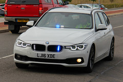 Humberside Police New Unmarked BMW 330d Touring Driver Training TPAC Car (PFB-999) Tags: humberside police ex demo demonstrator bmw 330d 3series touring estate xdrive driver training car vehicle unit dt tpac grilles fendoffs dashlight leds
