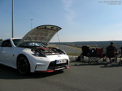 FlyingLap - IMG_0212 (nissansports) Tags: nissan fairlady z34 370z nismo white weiss flyinglap trackday 2016 schlsselfeld adac fsz fahrsicherheitszentrum nordbayern bamberg germany deutschland oberfranken