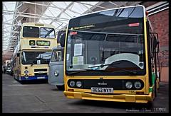 Tecnobus (zweiblumen) Tags: northwestmuseumofroadtransport sthelens merseyside hdr canoneos50d polariser zweiblumen de52nyy photoshopcs4 tecnobus merseytravel