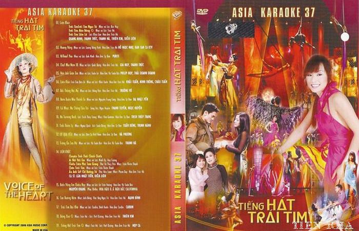 "ASIA 37 Karaoke "" Tiếng Hát Trái Tim "" DVD9"