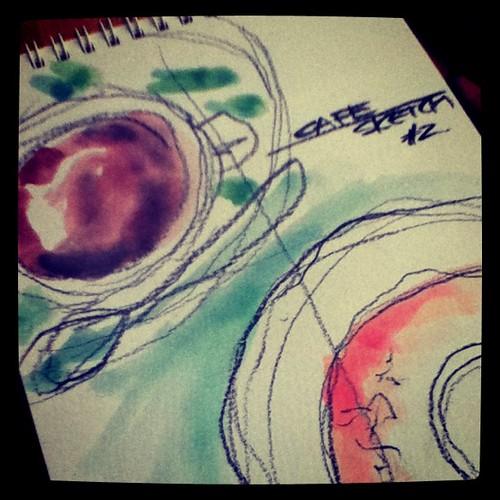 cafe sketch #01