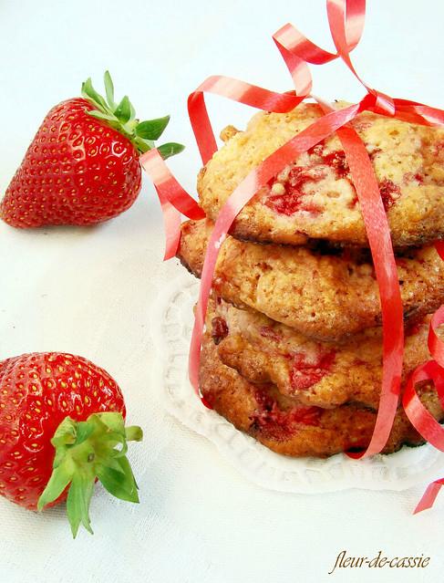 клубничное печенье 1