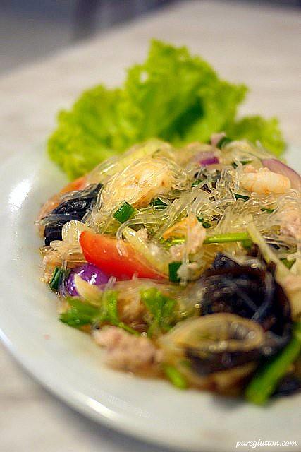 glass ndl salad