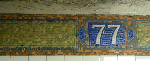 old old old subway tiles