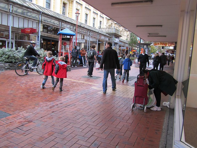 Cuba Street, Wellington, New Zealand