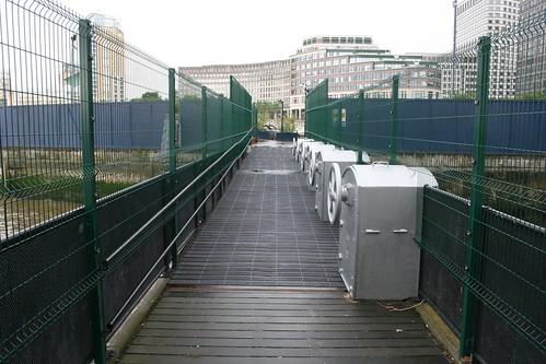 New slope on old level bridge