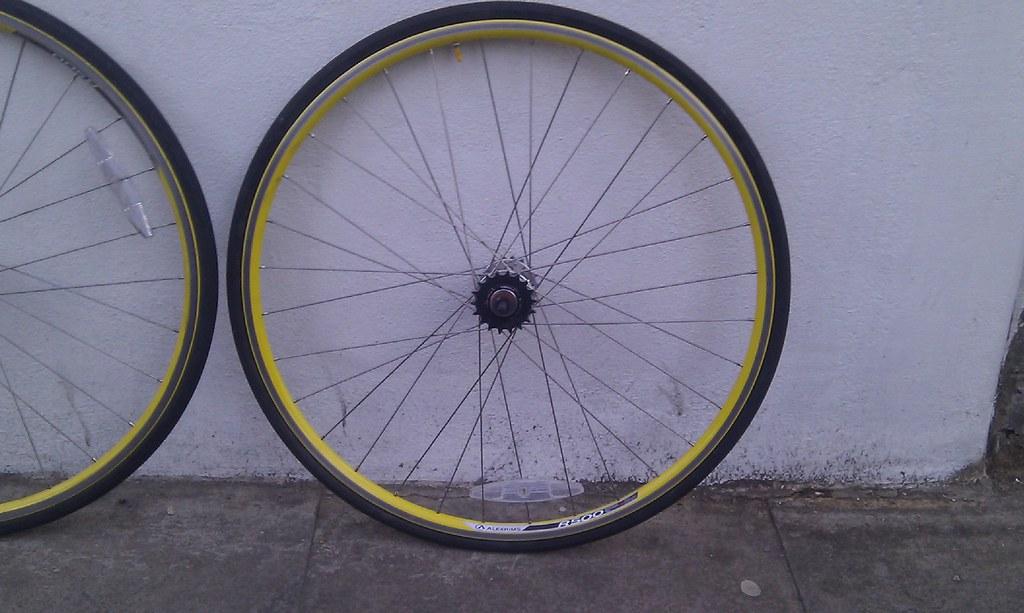Brand new rear wheel