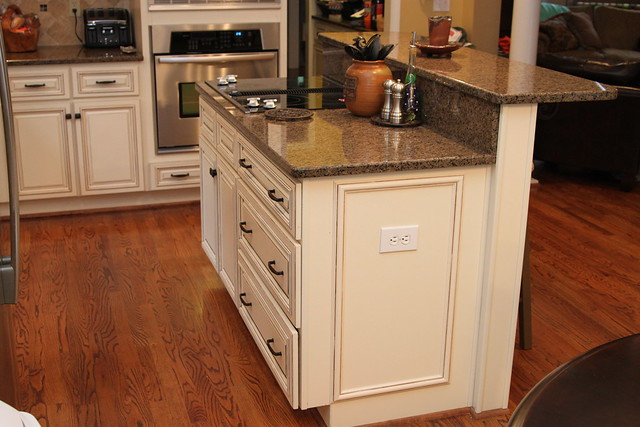 Kitchen Island With Electric Stove to paint or not to paint. that is the kitchen question. - unskinny