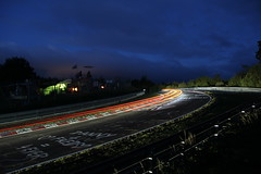 24H Nürburgring - Schwalbenschwanz (mr-mojo-risin) Tags: light green car night speed track hell racing eifel 24h nordschleife nürburgring schwalbenschwanz