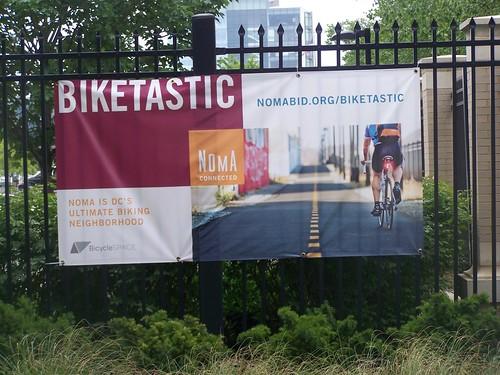 Biketastic: NoMA BID promotional banner