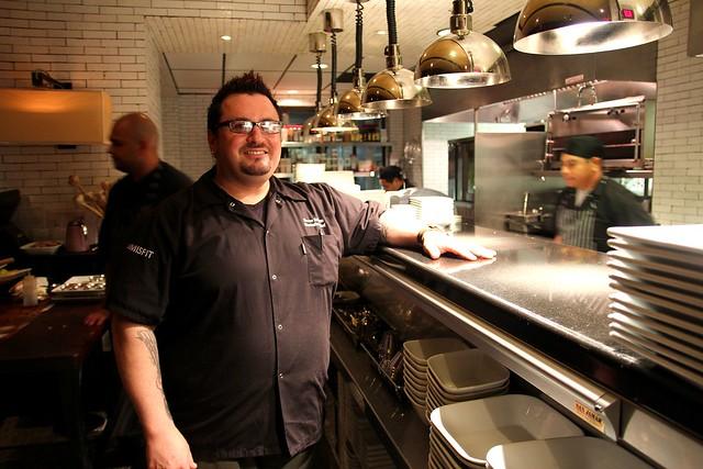 Chef Bruce Kalman by Caroline on Crack