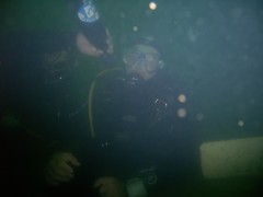 A la vôtre ;op (PhilR66) Tags: eric dive scuba scubadiving plongée abyss carrière dving totof roussay abyssplongée docfou zident opeps