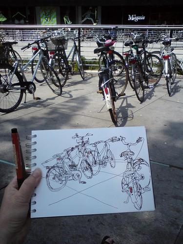 sketching in aarhus