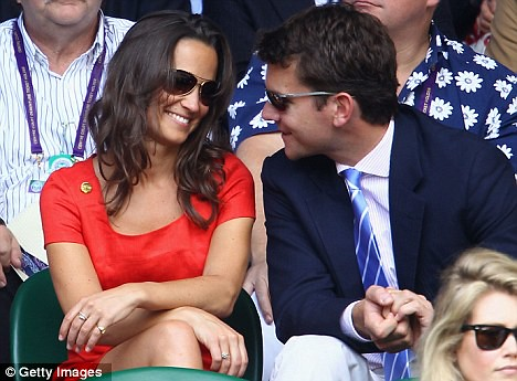 Pippa now rivals Kate in selling power as £129 red Hobbs dress sells out  4