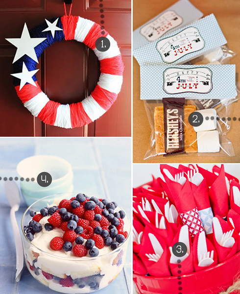4th fourth of july party decoration meal ideas