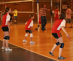 Attentives en rception (scribe74) Tags: volley finales besanon tournoi benjamines