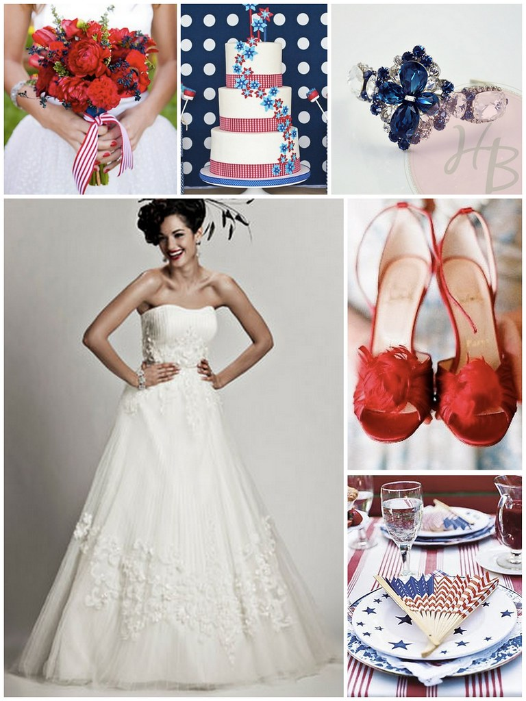 4th of July Bride, 4th of July wedding inspiration,  Haute Bride B901, Matthew Christopher Peggy Sue, Red White and Blue wedding, maryland bridal shops,