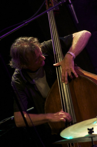 One-third of the Pilc Moutin Hoenig Trio - Francois Moutin