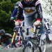 Scott Davidson racing Old School at Western Titans BMX racing track, Clydebank, Scotland