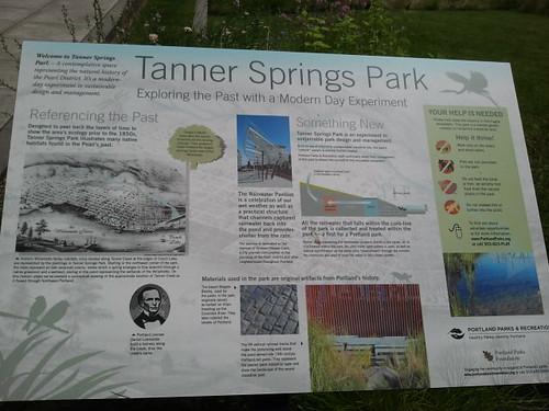 Tanner Springs Park, Portland, OR