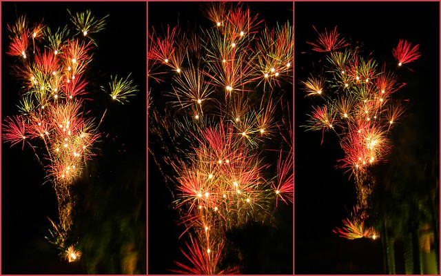 Firework Collage