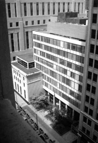 Federal Reserve Bank of Chicago Detroit Branch Building Annex, Detroit, Michigan, designed by Minoru Yamasaki