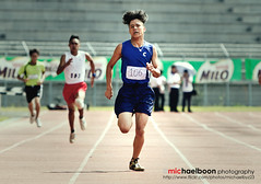 Rumah Biru's Star Runner (michaelboon.com) Tags: school sports canon eos running sarawak 7d 70200 kuching