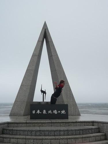 ナカムラin宗谷岬