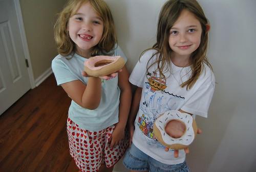 makin donuts