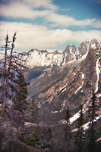 view from the pass - holga by Viva Deva