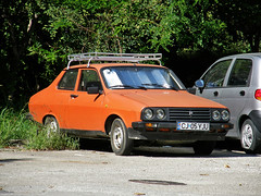 Dacia 1410 Sport (Eddy CJ) Tags: red car sport very good romania shape coupe romanian cluj napoca dacia condition 1410