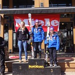 Panorama Miele Cup Spring Series J1 Podium GS Day 1 - 1. Charley Field; 2. Andrea Turner; 3. Emma King; PHOTO CREDIT: Gregor Druzina
