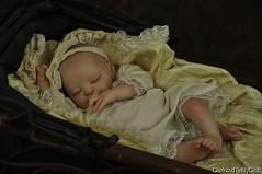 Crystal the Sleeping Vampire  Baby (LaceyMichelle1) Tags: sleeping baby twilight vampire victorian newborn edwardian lifelike laceymichelle darkandtwistydolls oddlysweet