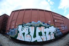 HUNT (Don't Sink) Tags: old graffiti ol virginia south dirty richmond mc dos crew mayhem hun 2012 ssp
