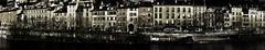 Les Quais pan 3 (Claude Millau) Tags: street city urban france industry architecture grenoble paysage hdr lanscape ville urbain