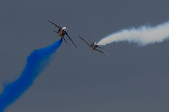 Patrouille de France. (Lars Helge) Tags: june norway juni plane canon airplane eos norge fly airport display aviation air aeroplane aerial airshow 7d planes l 70200 sola 2012 flyplass rogaland canon70200f4l 70200mm patrouilledefrance airplans solaairport luftfart flyvning solaairshow canoneos7d aerodisplay canon7d flyving llence