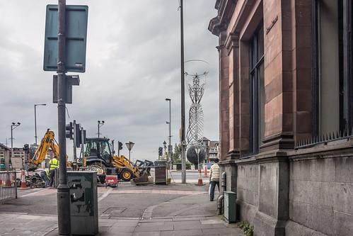 Belfast - Ann Street Leading To Queen's Bridge