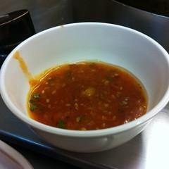 น้ำจิ้มสุกี้ | Seasoning Sauce @ ซุ้มสบาย ชาบูกระทะร้อน | Sum Sabai