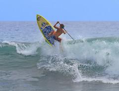 skyward (bluewavechris) Tags: ocean sea sun water youth fun hawaii log surf action surfer board air paddle wave maui lip westside sup sweep